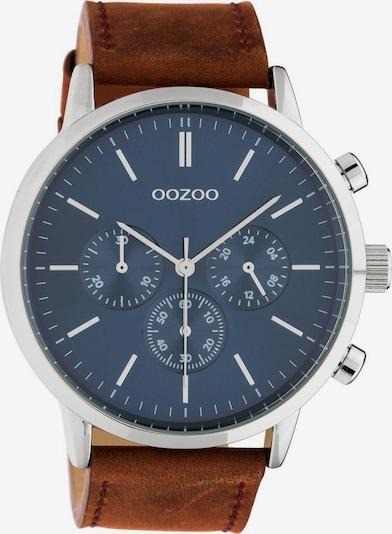 OOZOO Quarzuhr in cognac, Produktansicht