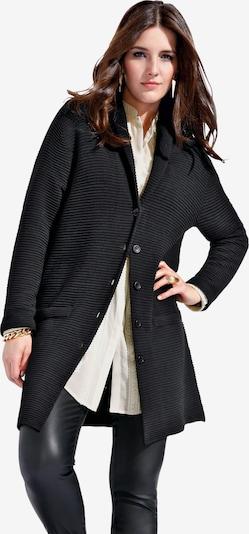 Emilia Lay Strickmantel in schwarz, Produktansicht