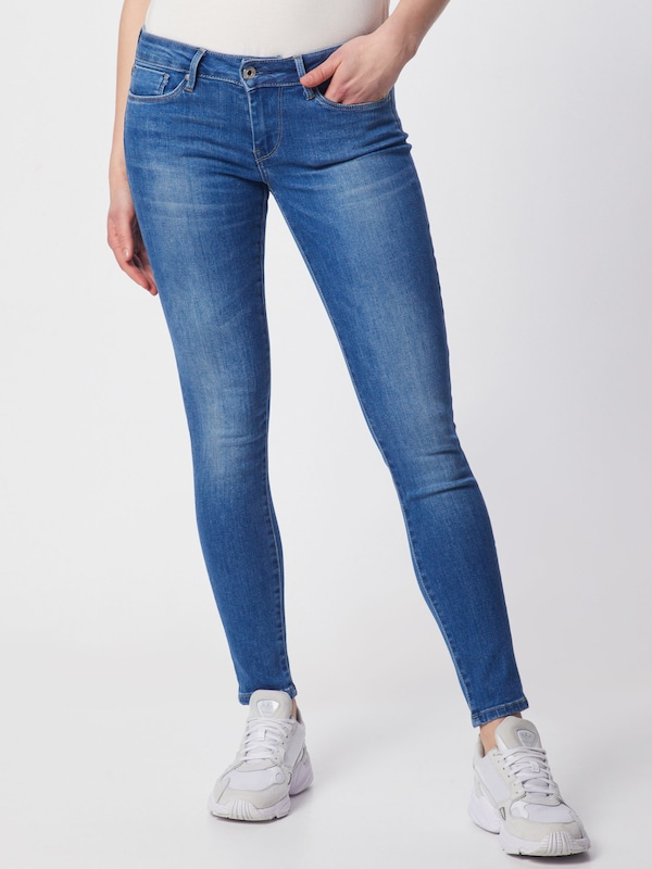 Pepe Jeans Jeans 'Soho' in blue denim: Frontalansicht