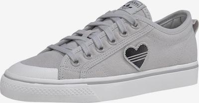 ADIDAS ORIGINALS Sneaker 'Nizza Trefoil' in hellgrau / weiß, Produktansicht