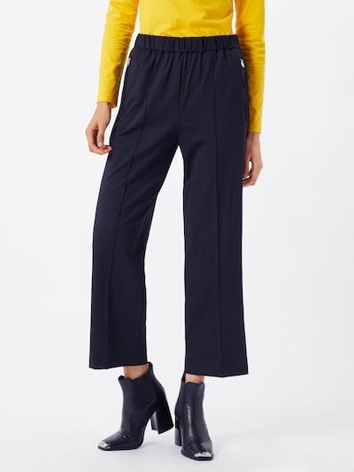 Calvin Klein Viikidega püksid 'PUNTO MILANO TRACKSUIT PANT' must, Modellivaade