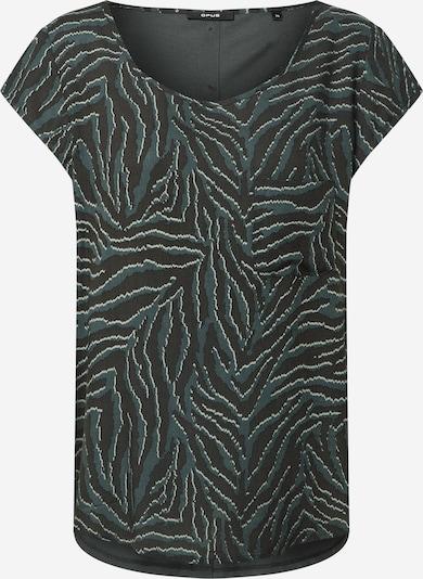 OPUS Shirt 'Flinka' in de kleur Donkergroen, Productweergave