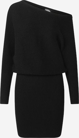 Parallel Lines Pletena obleka | črna barva, Prikaz izdelka