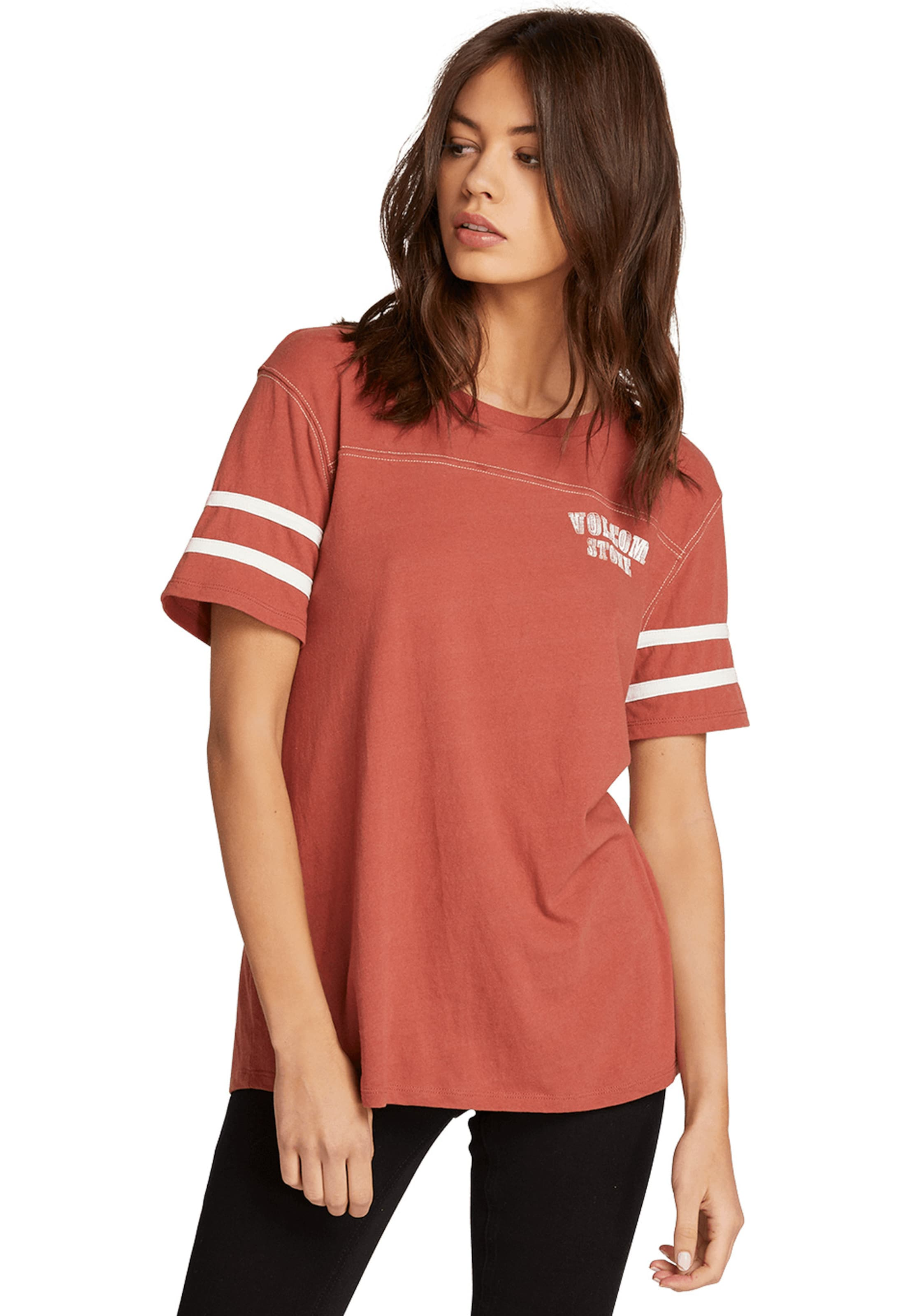 T 'streakin Stone' Rot shirt In Volcom Y7gybf6