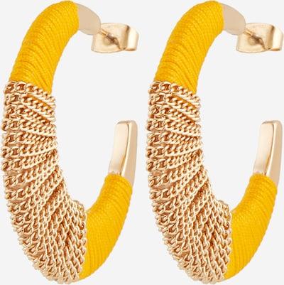 Cercei 'PCNURA' PIECES pe galben / auriu, Vizualizare produs