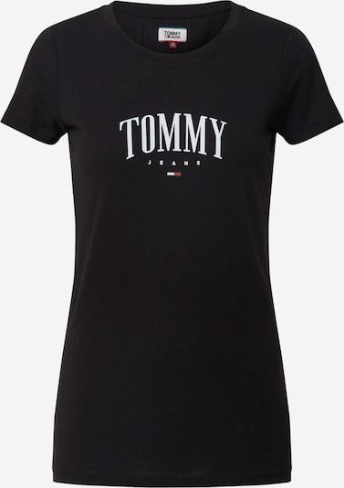Tommy Jeans Shirt 'TJW TOMMY SCRIPT TEE' in schwarz, Produktansicht