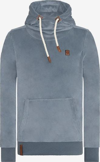 naketano Sweater 'Mack III' in silbergrau, Produktansicht