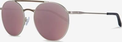 Kerbholz Sonnenbrille 'John' in braunmeliert / rosegold / beere, Produktansicht