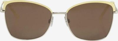 TOM TAILOR Eyewear Sonnenbrille mit getönten Gläsern in gelb / gold / schwarz, Produktansicht
