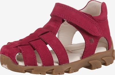 ELEFANTEN Sandale 'Fisher' in rot, Produktansicht