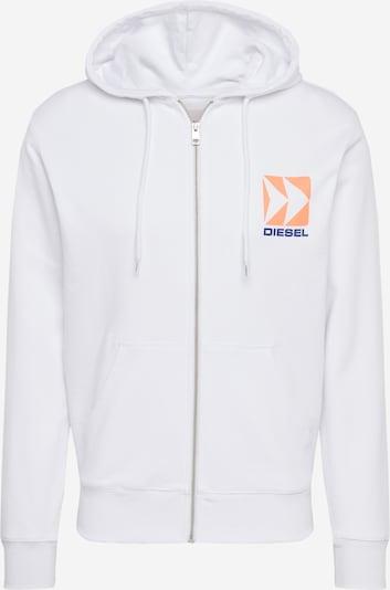 DIESEL Bluza rozpinana w kolorze białym, Podgląd produktu