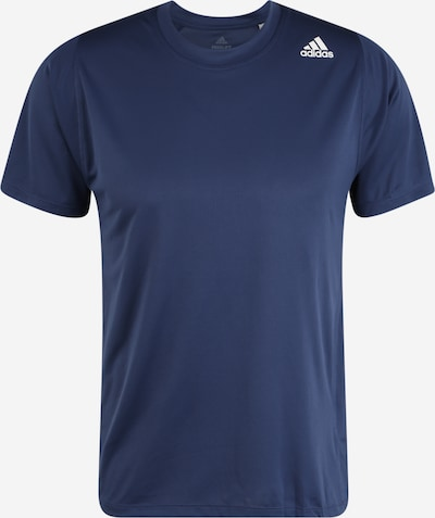 ADIDAS PERFORMANCE Sportshirt in blau: Frontalansicht