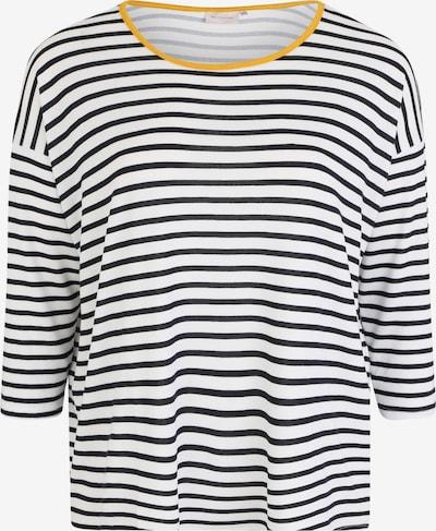 ONLY Carmakoma Shirts  'CARALBA' in gelb / schwarz / weiß, Produktansicht