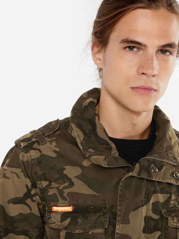 Superdry Jacke 'CLASSIC ROOKIE MILITARY'