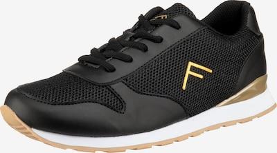 Freyling Sneaker in gold / schwarz, Produktansicht
