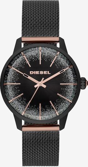 DIESEL Damenuhr 'DZ5577' in rosegold / schwarz, Produktansicht