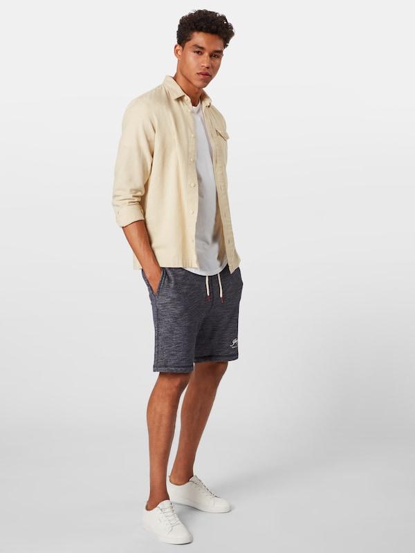 Bleu Jackamp; Pantalon MarineGris En Jones hrtsQCd
