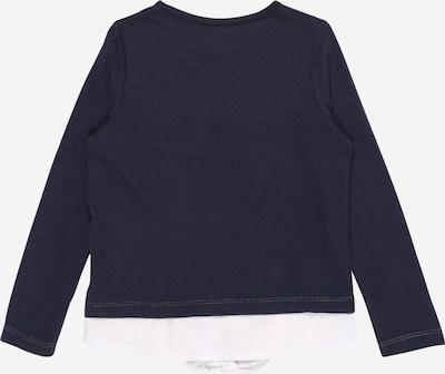 REVIEW FOR KIDS Shirt in nachtblau / pink / weiß: Rückansicht
