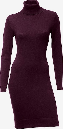 heine Kleid in aubergine, Produktansicht