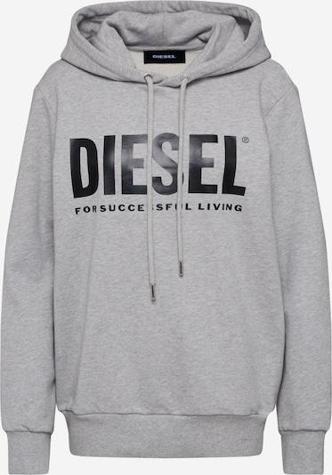 DIESEL Sweatshirt 'S-GIR-HOOD-DIVISION-LOGO' in grau, Produktansicht