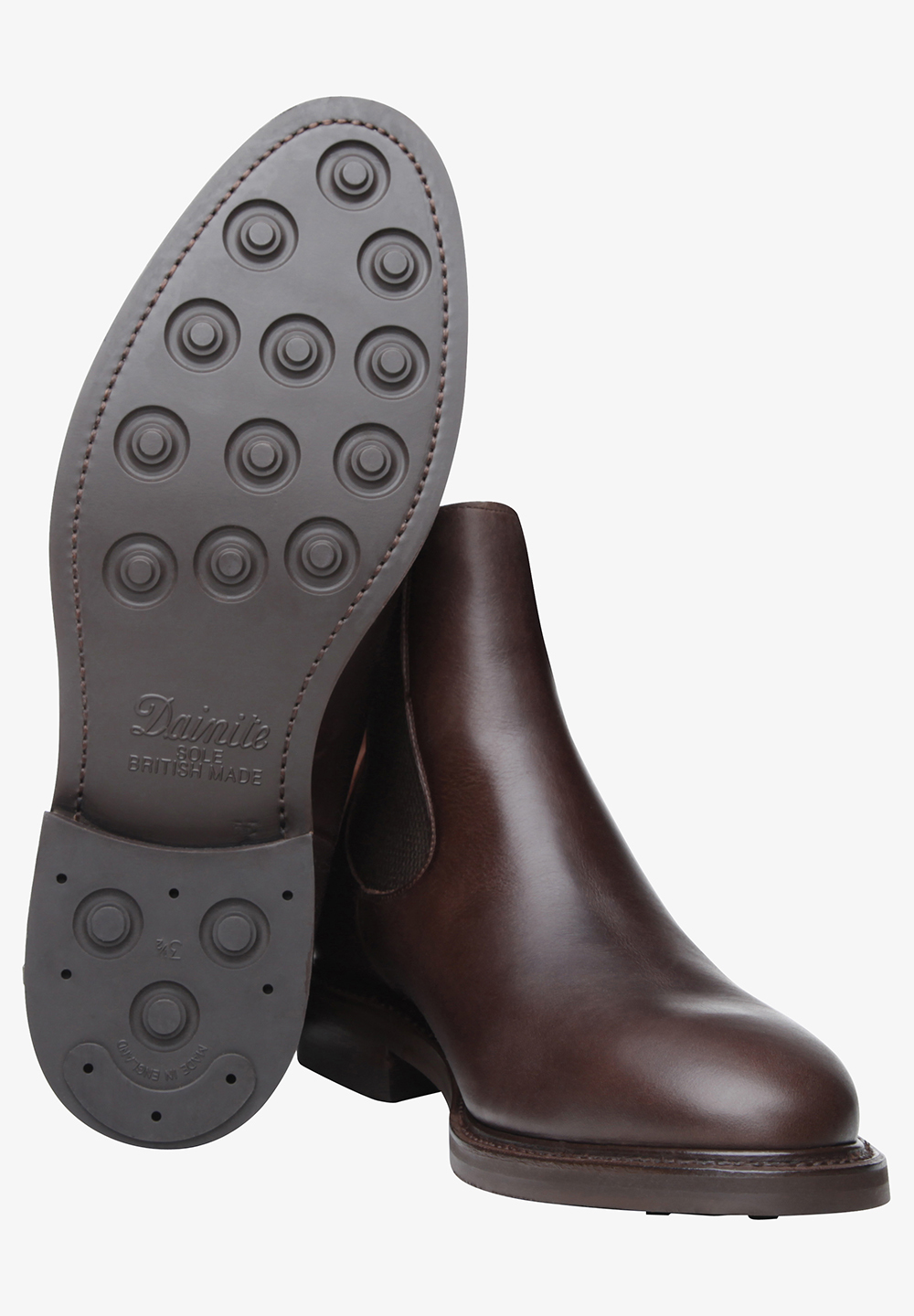 SHOEPASSION Chelsea boots 'No. 647' in Donkerbruin CZDaOKcn