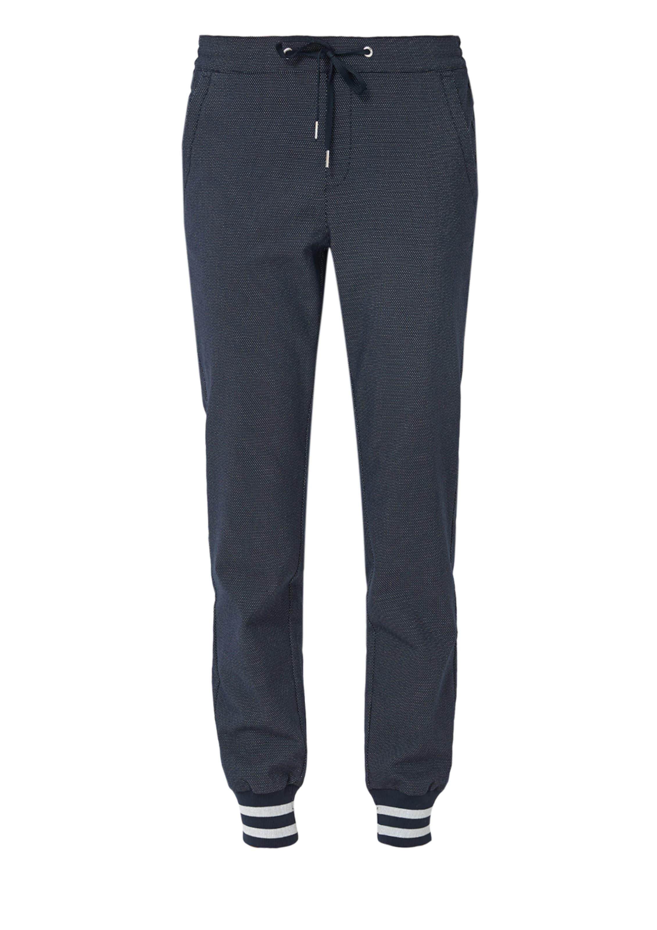 In S oliver Label NachtblauWeiß Red Pants jR354AL
