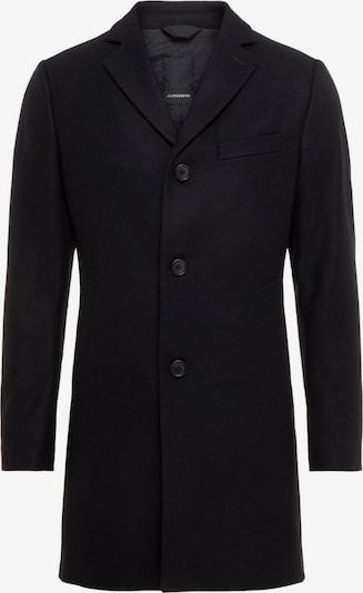 J.Lindeberg 'Wolger Compact Melton' Mantel in schwarz, Produktansicht