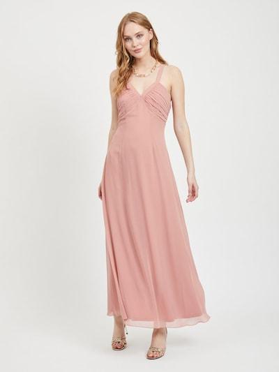 Vakarinė suknelė iš VILA , spalva - ryškiai rožinė spalva: Vaizdas iš priekio
