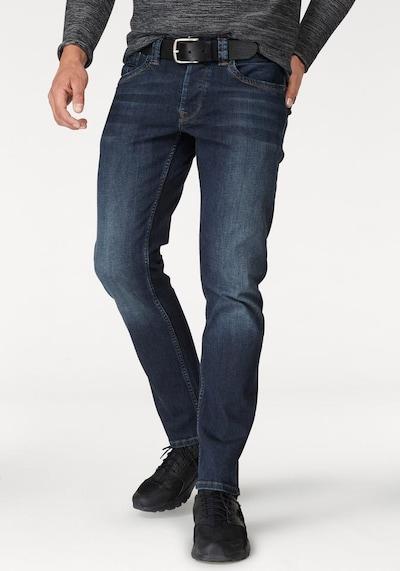 Pepe Jeans Jean 'CASH' en bleu foncé, Vue avec modèle