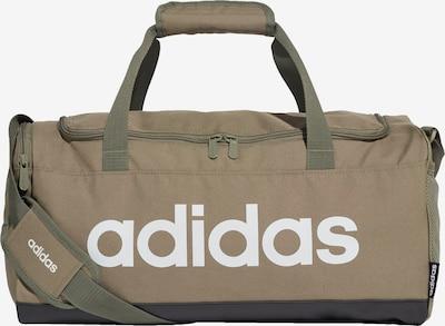 Sportinis krepšys iš ADIDAS PERFORMANCE , spalva - šviesiai ruda / alyvuogių spalva, Prekių apžvalga