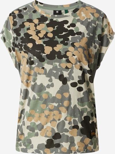 G-Star RAW Shirt 'Gyre AO Knot' in de kleur Groen / Zwart, Productweergave