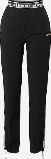 Pantaloni 'FABLOLA' ELLESSE pe negru, Vizualizare produs