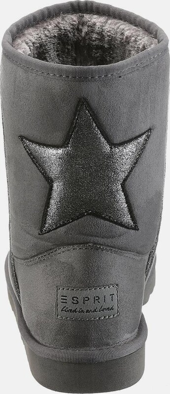 ESPRIT Boot mit Glitzerapplikation  Uma
