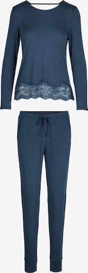 LingaDore Pyjama 'FOLK' in blau, Produktansicht