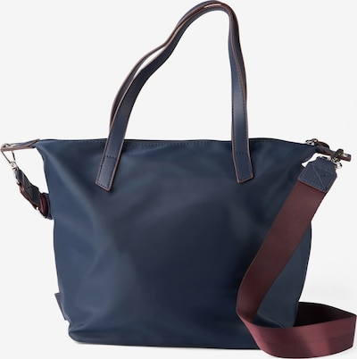 TOM TAILOR DENIM Shopper 'Jenni' in marine, Produktansicht