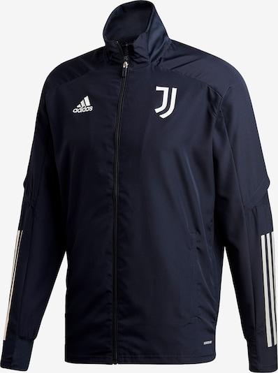 ADIDAS PERFORMANCE Präsentationsjacke 'Juventus Turin' in dunkelblau / weiß, Produktansicht