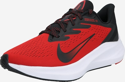 NIKE Chaussure de course 'Air Zoom Winflo 7' en rouge / noir, Vue avec produit