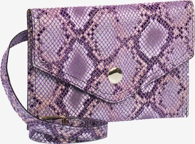 MYMO Sacs banane en violet clair / violet foncé: Vue de face