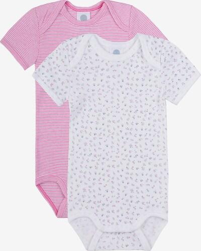 SANETTA Body in mischfarben / pink / weiß, Produktansicht