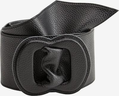 MANGO Gürtel 'Ocho' in schwarz, Produktansicht
