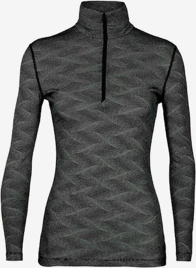Icebreaker Shirt '200 Oasis LS' in grau / schwarz, Produktansicht