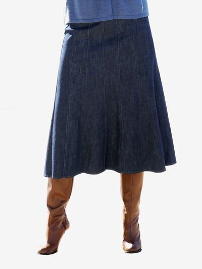 Anna Aura Jeansrock in nachtblau: Frontalansicht