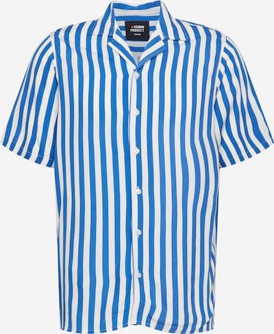 Denim Project Košile 'El G SS Cuba' - nebeská modř / bílá, Produkt