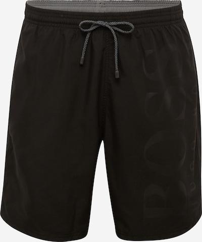 BOSS Shorts de bain 'BORCA' en noir, Vue avec produit