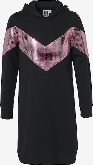 myToys-COLLECTION Sweatkleid in hellpink / schwarz, Produktansicht