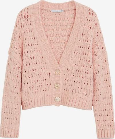 MANGO Gebreid vest 'Cuca' in de kleur Pink, Productweergave