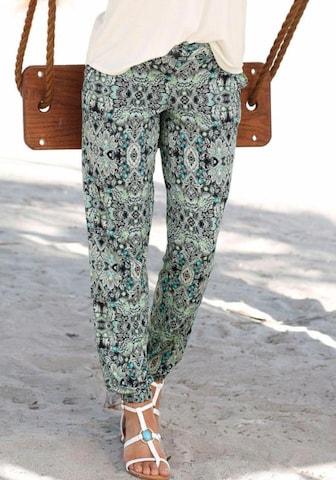 LASCANA Püksid, värv roheline