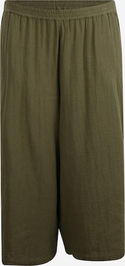 Zizzi Hlače 'Emma' | oliva barva, Prikaz izdelka