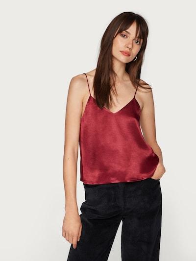 EDITED Top 'Emy' in rubinrot, Modelansicht