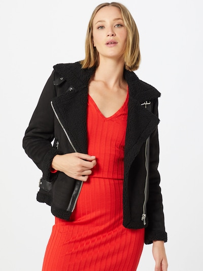 ONLY Prehodna jakna 'Diana' | črna barva, Prikaz modela